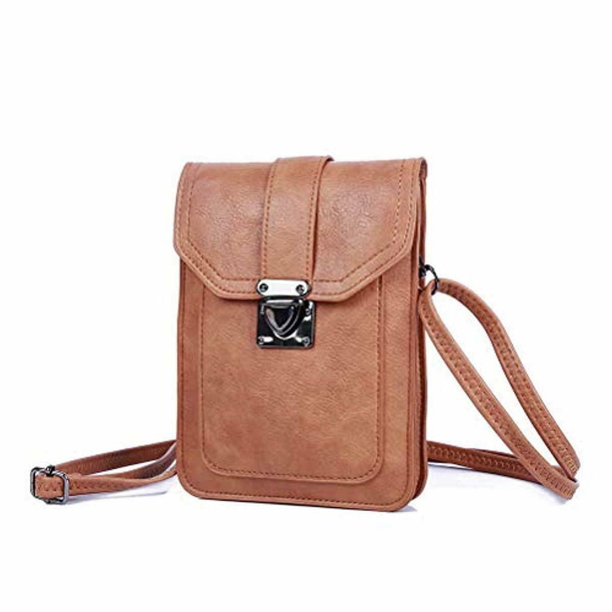 Multi Cell Vegan Leather Crossbody Bag Women