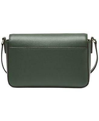 NEW DKNY Bryant Leather Crossbody Bag, Green =EBAY SALE=