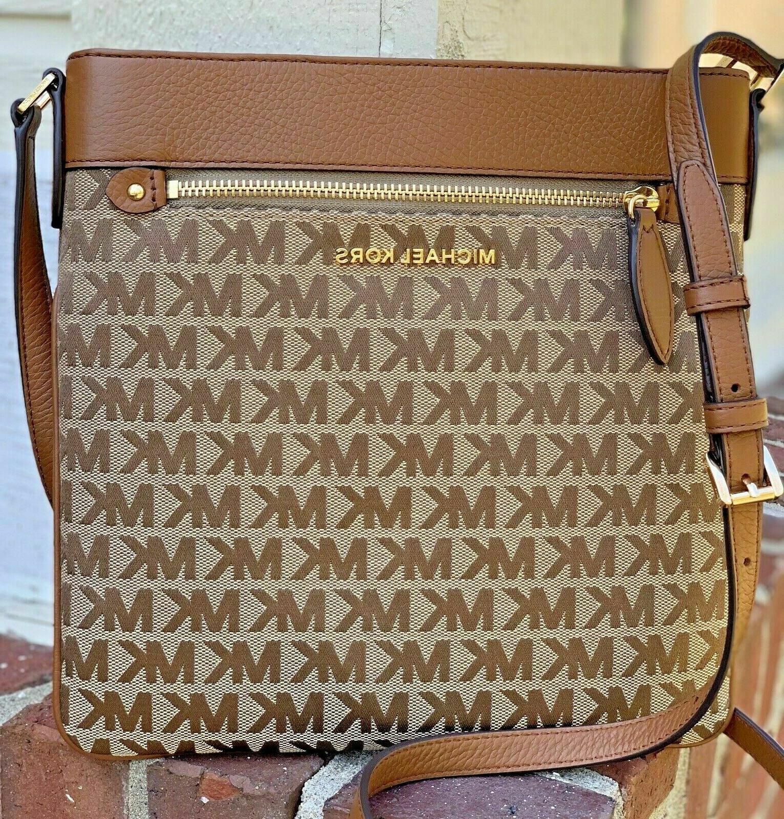 New Michael Large Top Zip Bag