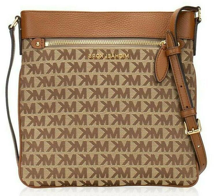 New Michael Large North Top Crossbody Bag