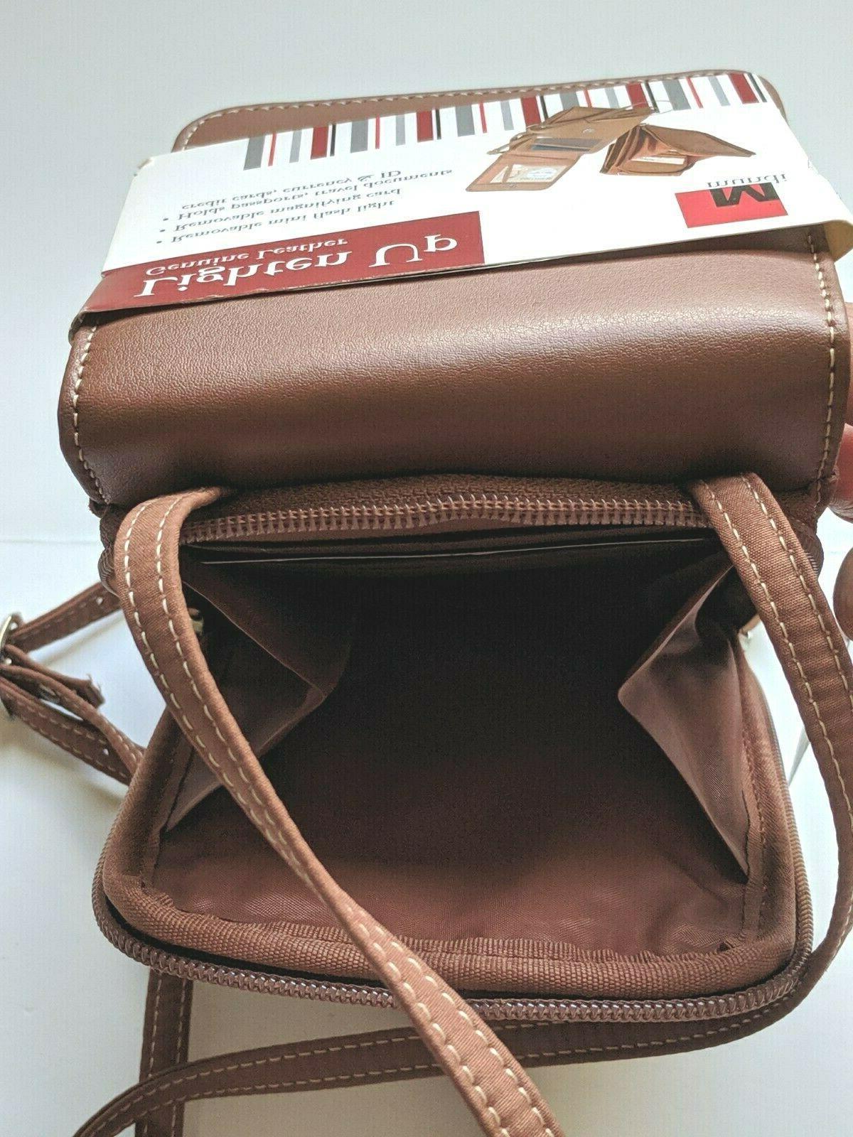 New! Leather Lighten Up Bag Strap