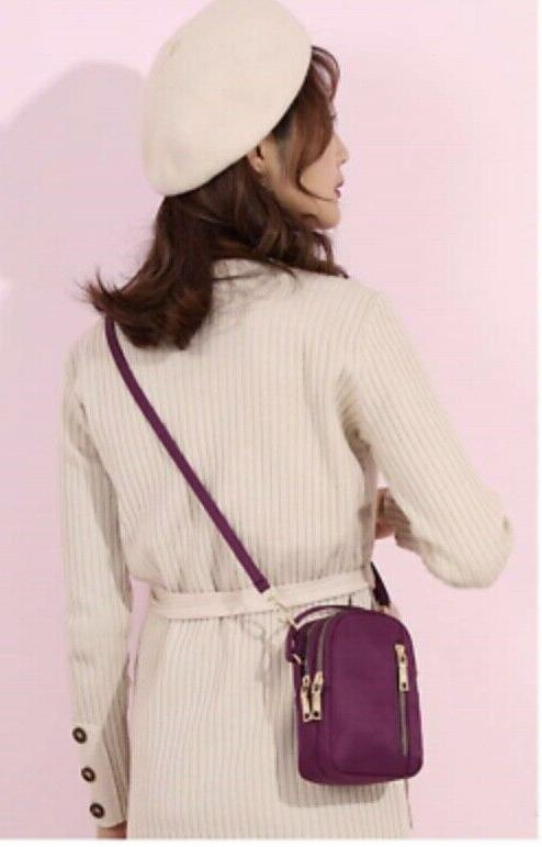 NEW Multi-Pocket Crossbody Bag Phone Purse Wallet color