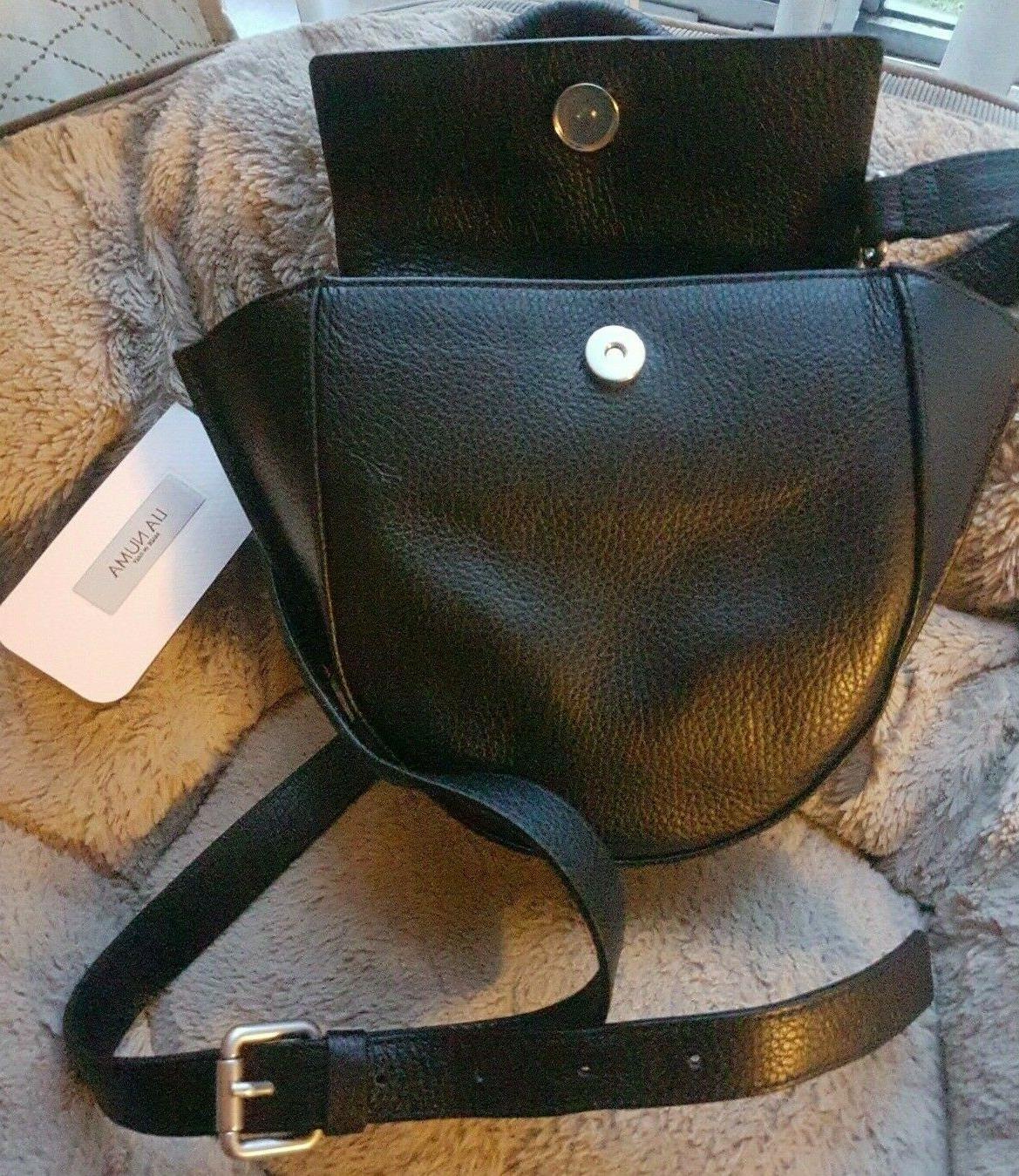 New LIA Women's Made Black Bag NWT
