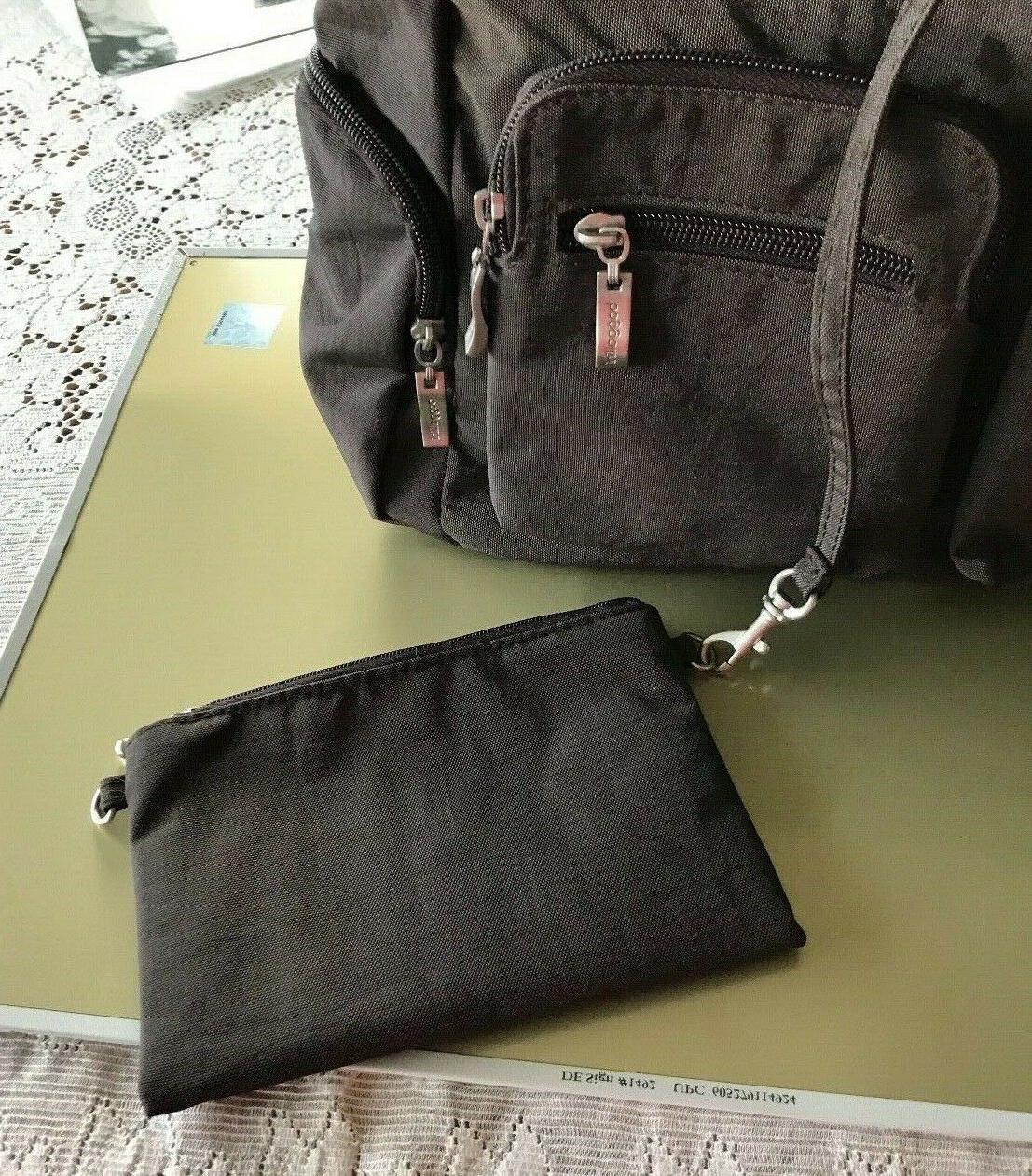 NEW Baggallini Brown Everywhere Bag w/Extra