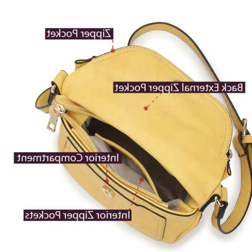 Dasein Womens Crossbody Bags Front