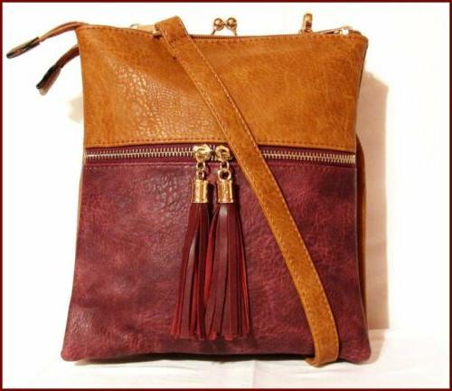 nwt alyssa crossbody bag purse