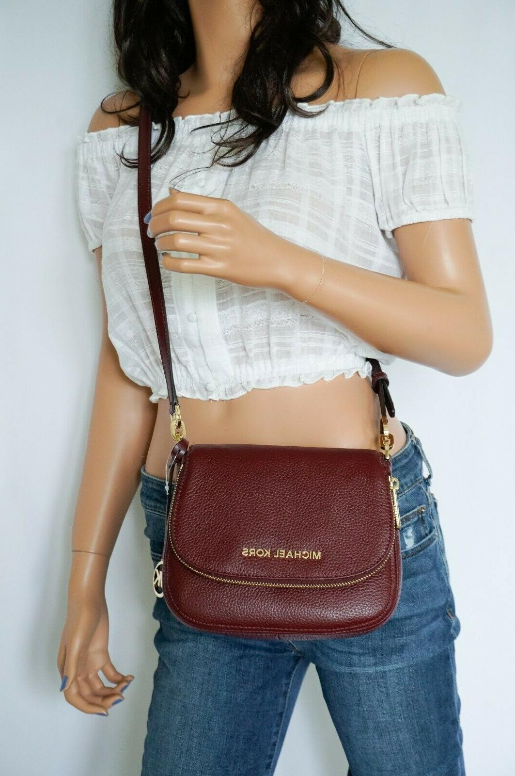 nwt bedford small flap crossbody pebbled leather
