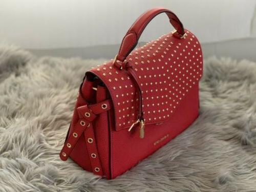 NWT KORS BRISTOL RED SATCHEL BAG