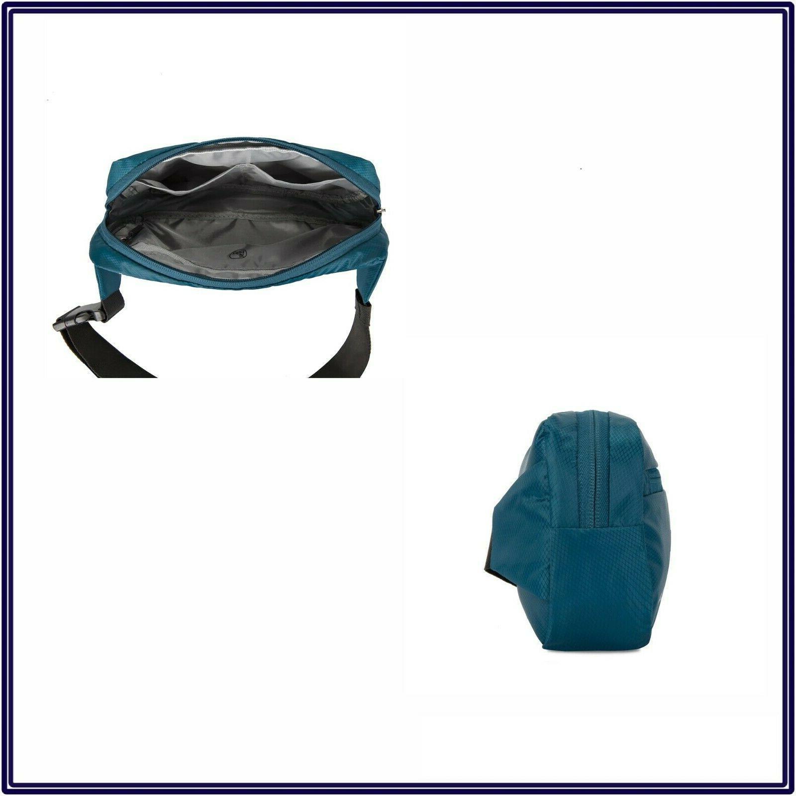 NWT Crossbody Sling Bag in Black Unisex Pouch