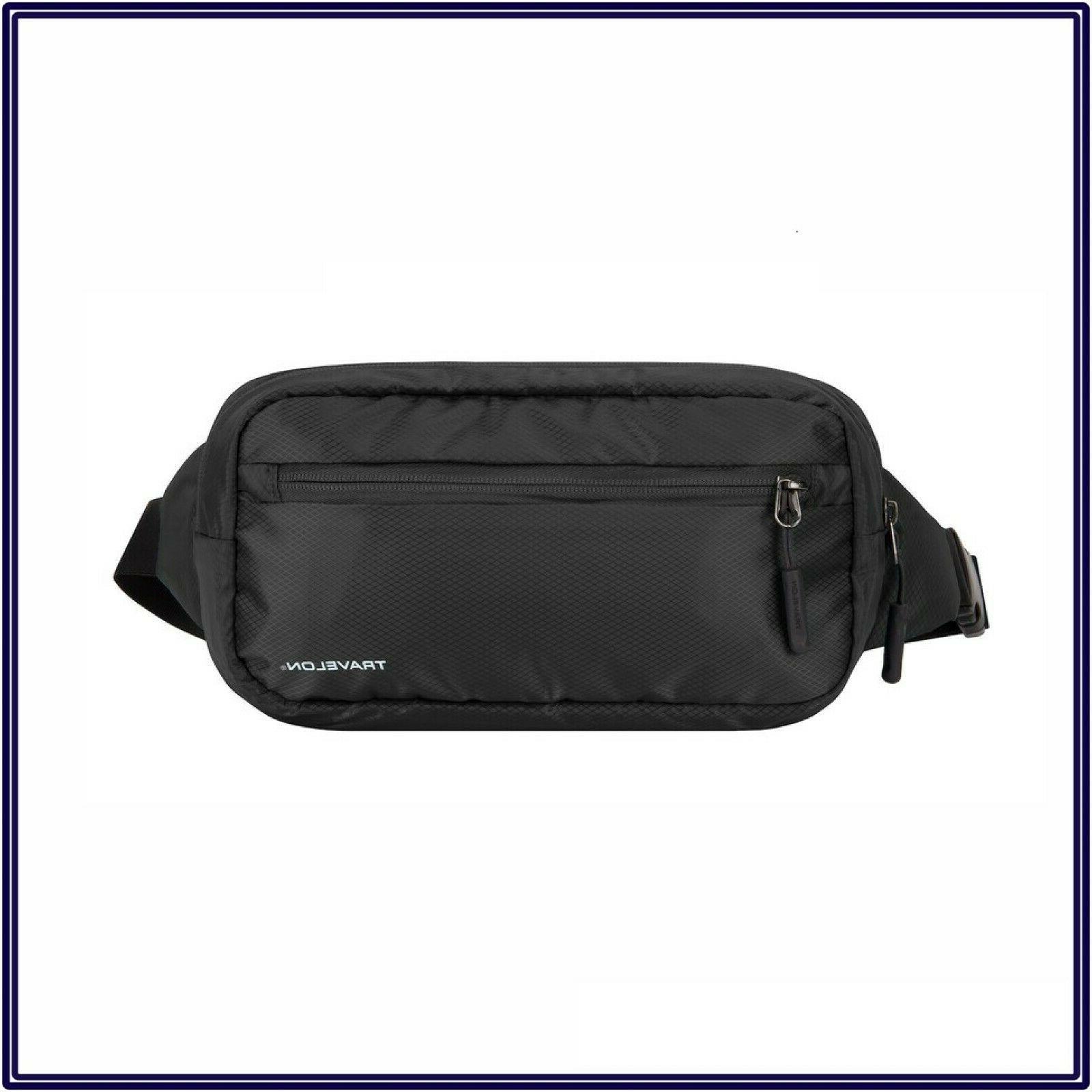 nwt rfid crossbody sling waist pack travel