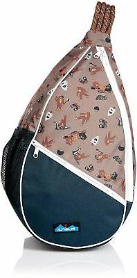 KAVU Paxton Pack Backpack Crossbody Rope Sling Bag - Sasquat