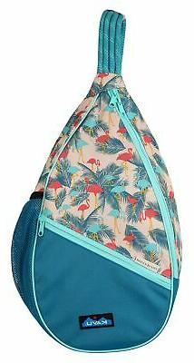 KAVU Paxton Pack Backpack Crossbody Rope Sling Bag - Flaming