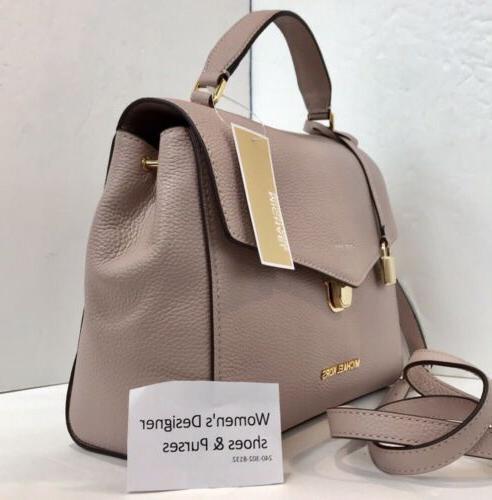 Michael Kors Pebble Bristol Satchel Crossbody Bag $348
