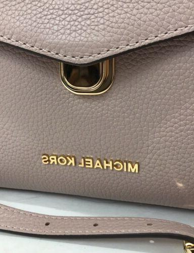 Michael Kors Pebble Bristol Satchel Bag