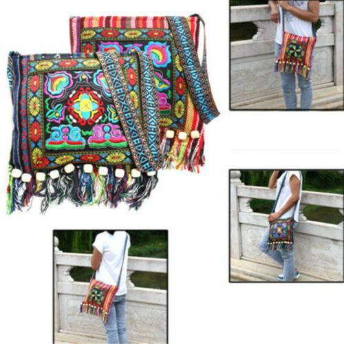 Retro Messenger Ethnic Tassel Bag Hippie