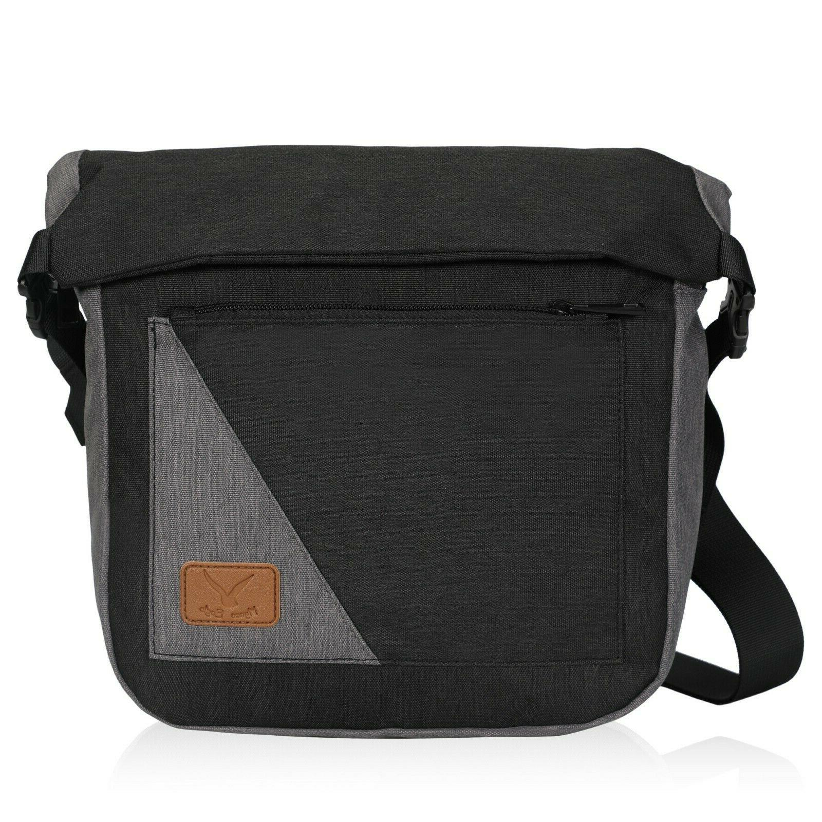 roll top anti theft crossbody daily purse