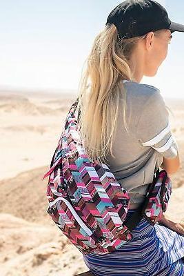 KAVU Bag Polyester Crossbody Shoulder Backpack Sunset