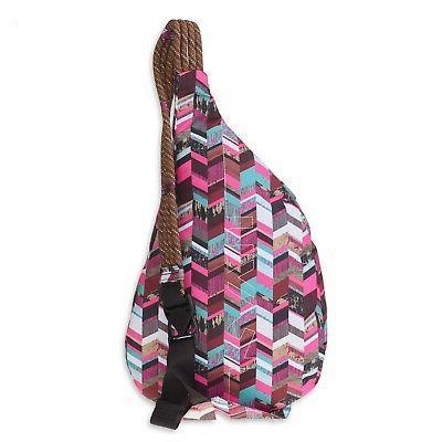KAVU Polyester Shoulder Hiking Backpack Blocks