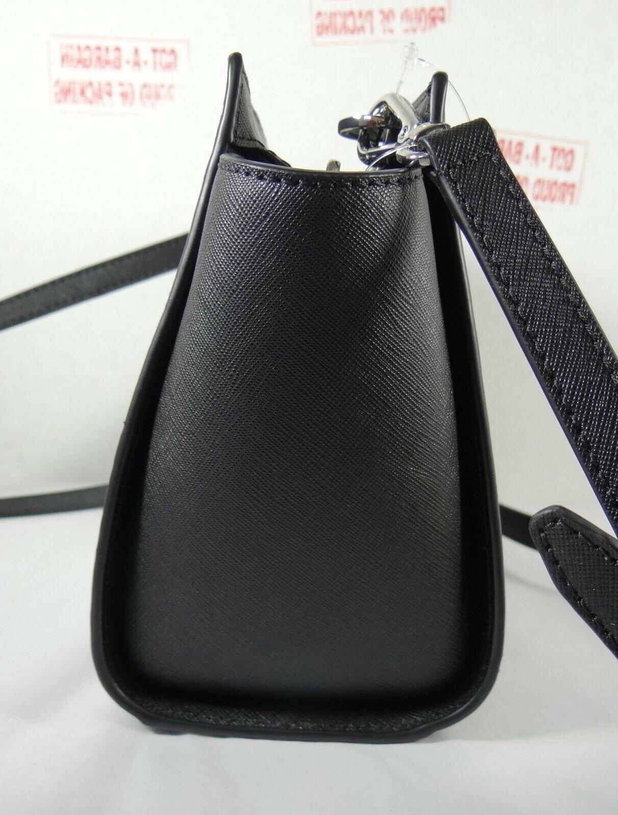 Michael Pearl Grey Floral Medium Messenger Crossbody Bag
