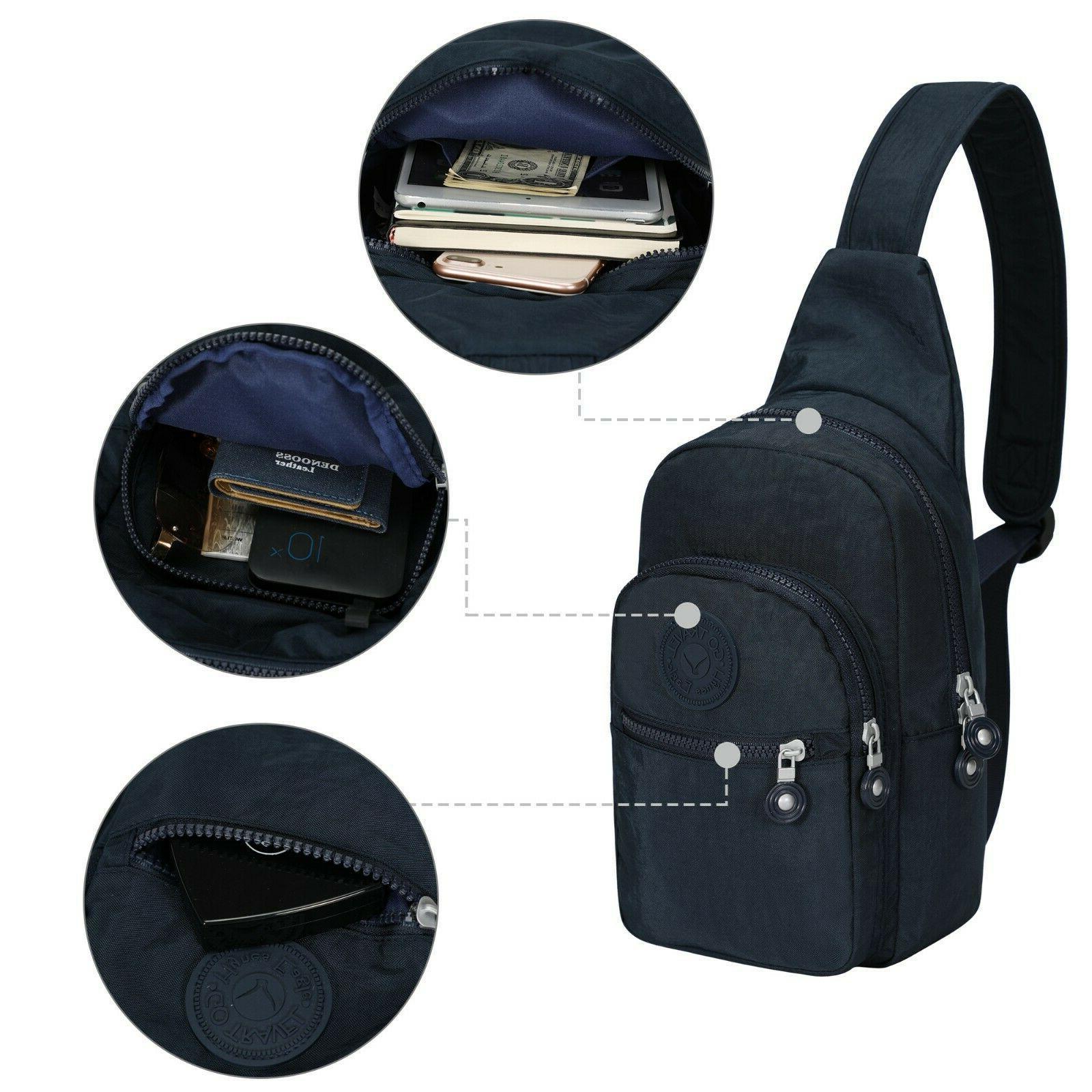 Hynes Eagle Sling Multipurpose Crossbody Backpack Shoulder
