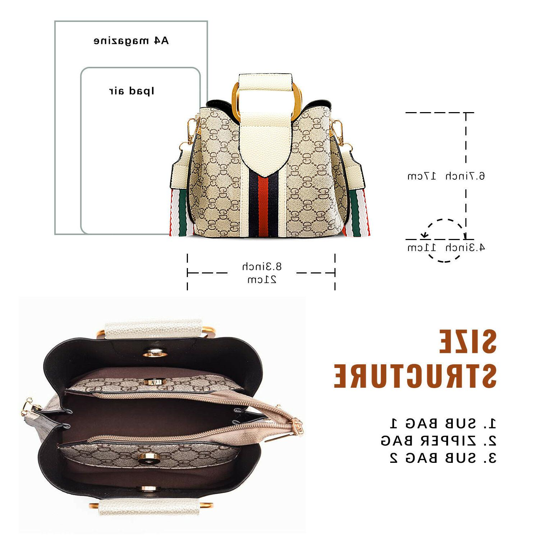 Small Crossbody Shoulder Bag PU Leather Classical Purse