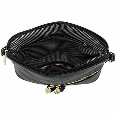 Tassel Pocket Dome Crossbody Bag Fashionpuzzle