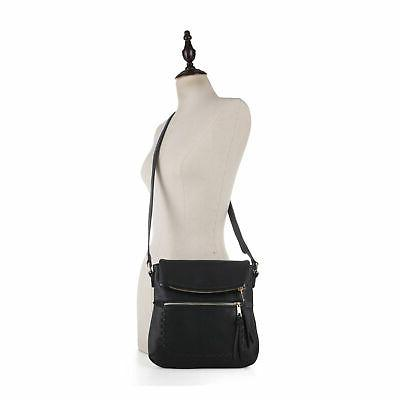 Deluxity Zippered Bag Flap