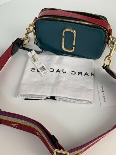 THE SNAPSHOT LEATHER BAG MULTI