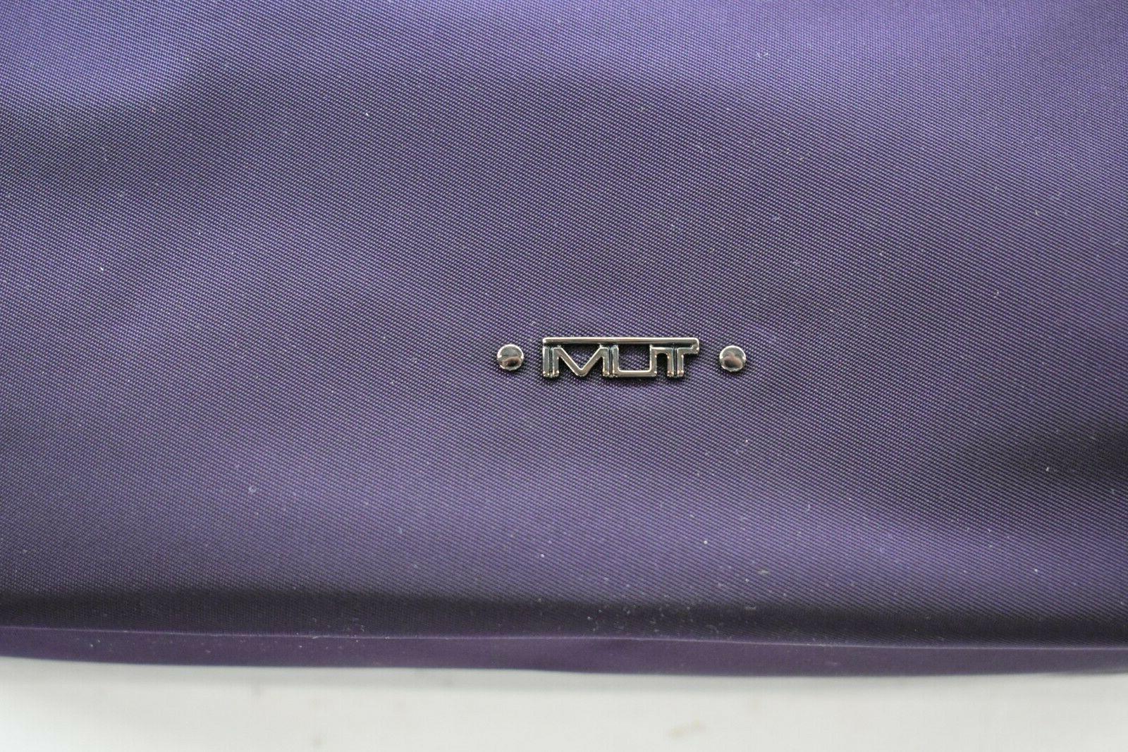 Tumi Voyageur Nylon Crossbody Purple Purse $245