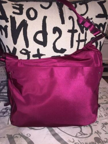 Tumi Sumatra Crossbody Burgundy Crossbody Bag