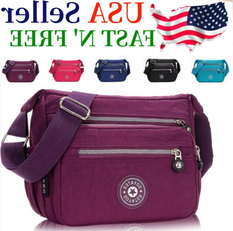 waterproof messenger cross body ladies handbag bag