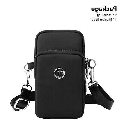 Small Cell Wallet Case Shoulder Bag Pouch