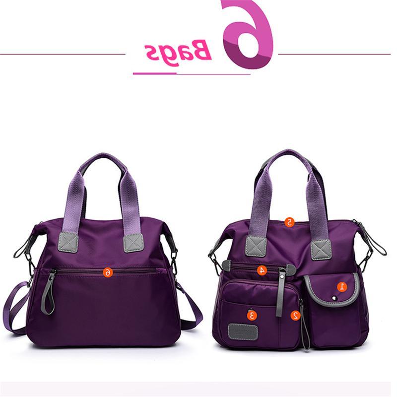 Women Crossbody Canvas Handbag Size