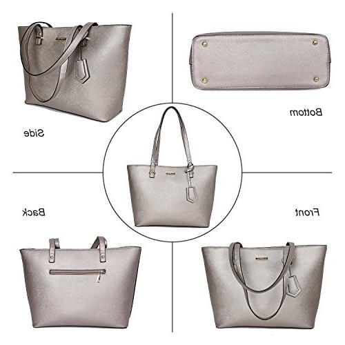 ELIMPAUL Handbags Tote Top Handle Satchel Purse