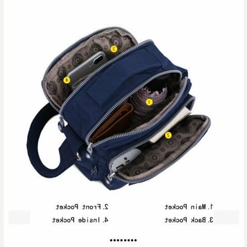 TEGAOTE Casual Small Multi compartment Shoulder Bags