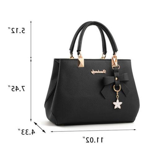 Women Ladies Leather Shoulder Bag Messenger Satchel