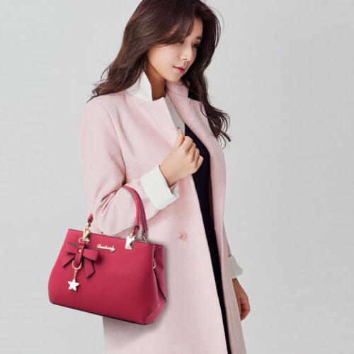 Women Leather Shoulder Bag Crossbody Messenger