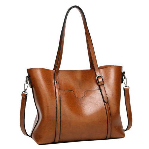 Women Soft Shopping Bag Satchel Shoulder Purse