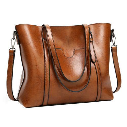 Women Soft Shopping Bag Crossbody Shoulder Purse