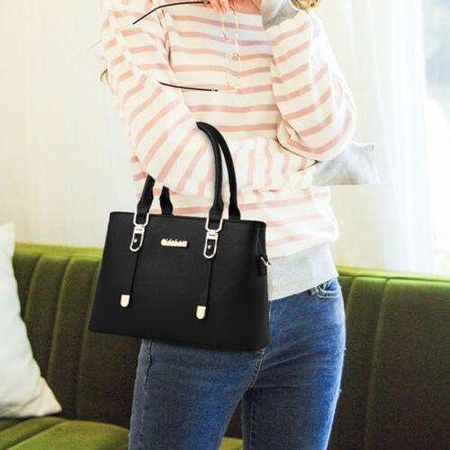 Women Leather Handbag Shoulder Lady Purse