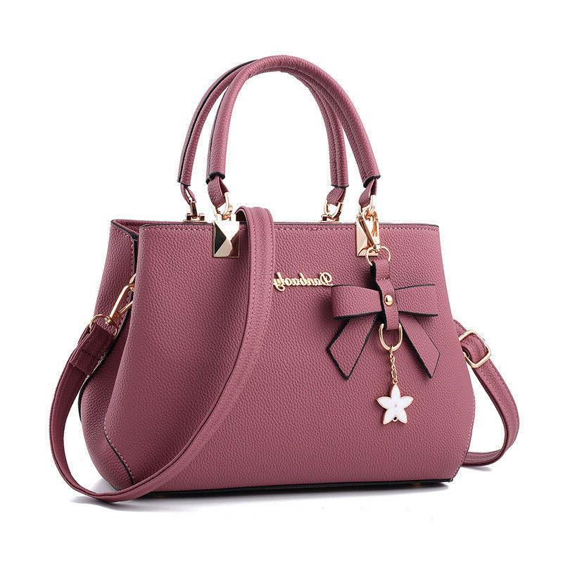 Women Leather Handbags Messenger Satchel