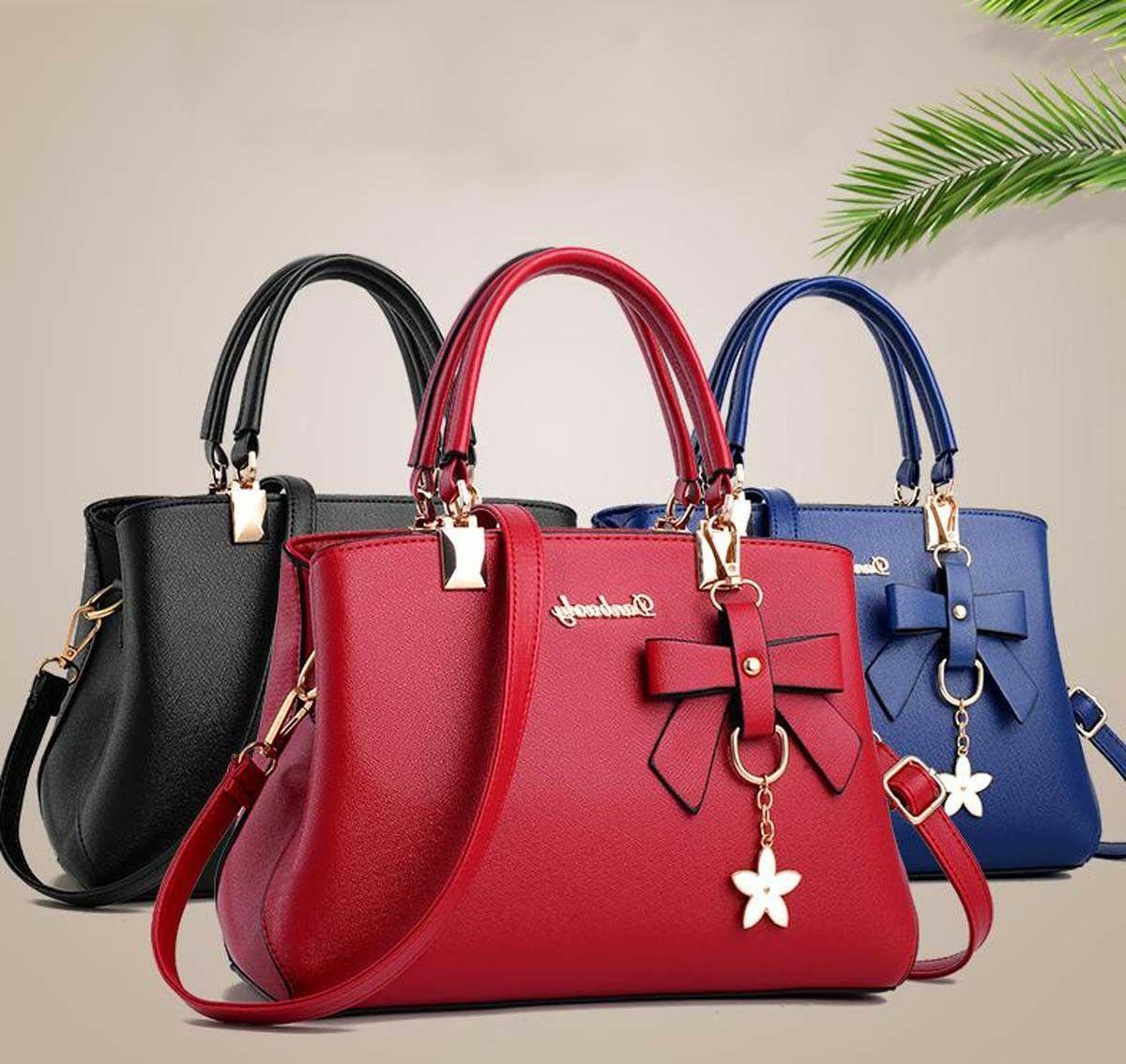 Women Leather Handbags Shoulder Messenger Satchel Tote Crossbody