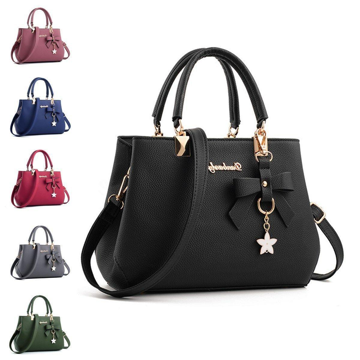 Women Leather Handbags Crossbody Purse