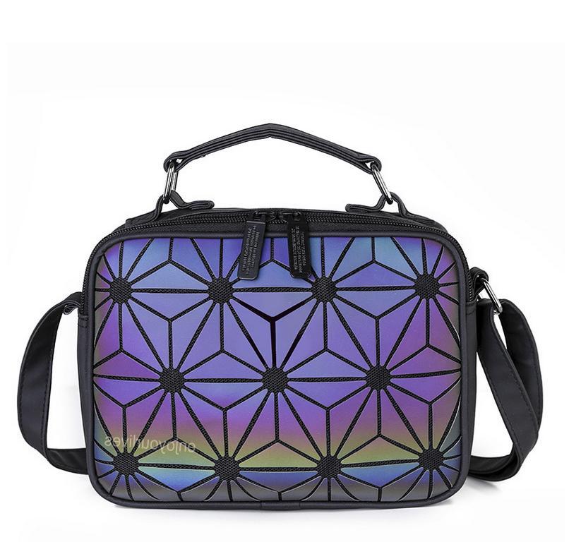 Women Medium Holographic Shoudler Crossbody Casual Fashion Bags