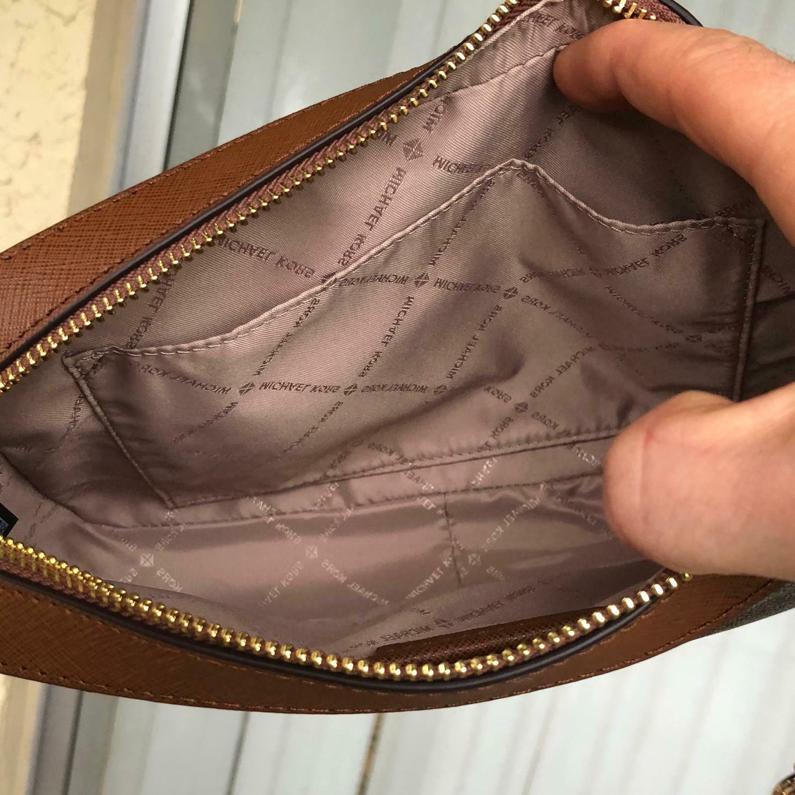 Michael Kors Women PVC Leather Crossbody Purse