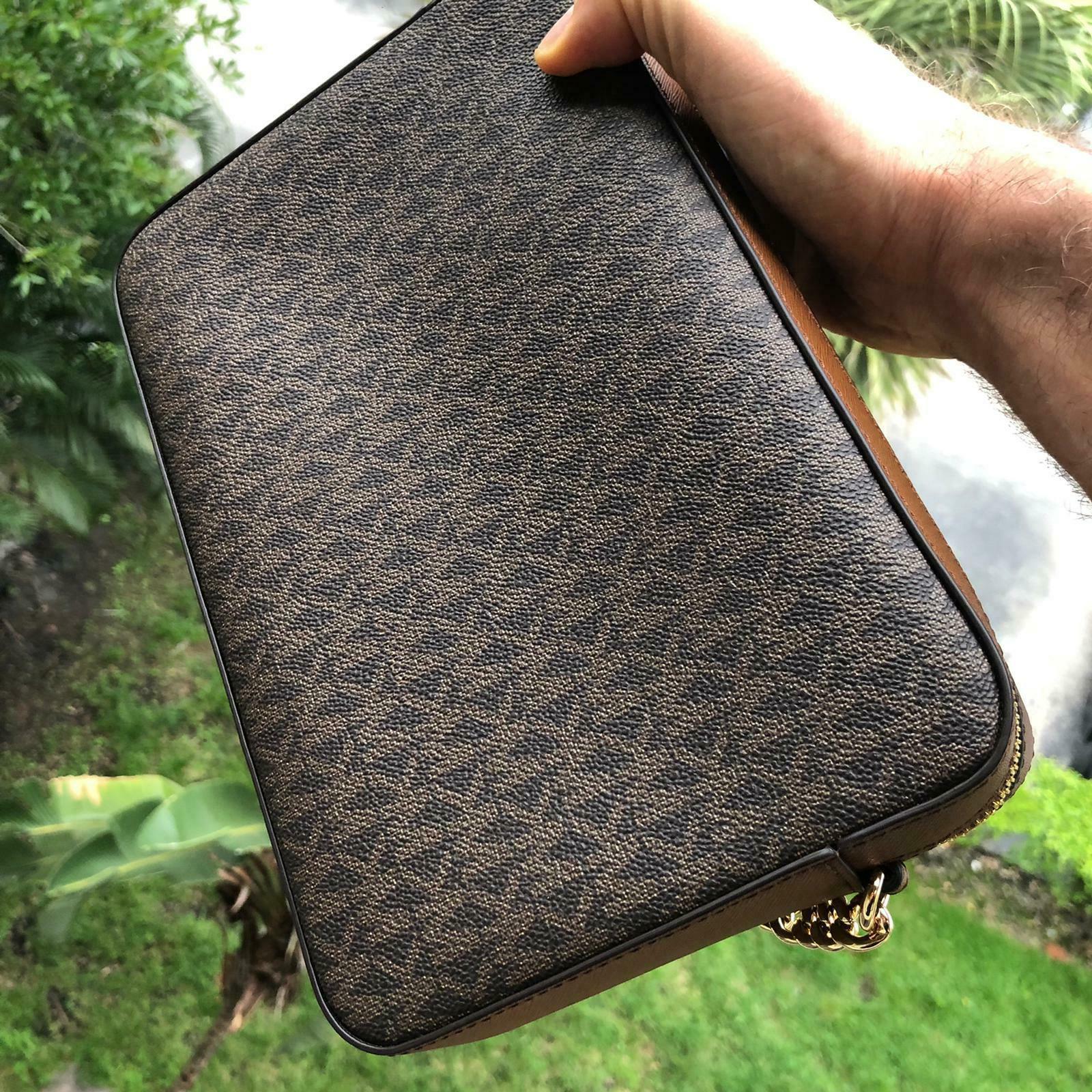 Michael Kors Leather Bag Handbag Purse Shoulder