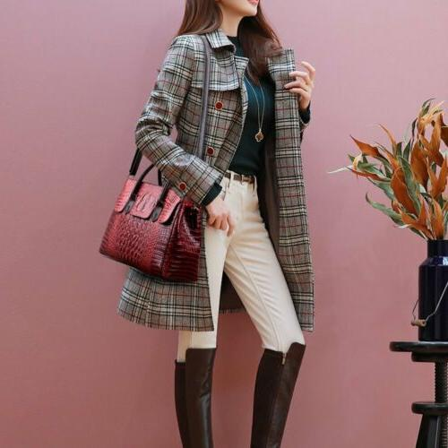 Women's Leather Sling Satchel Tote Bag Shoulder