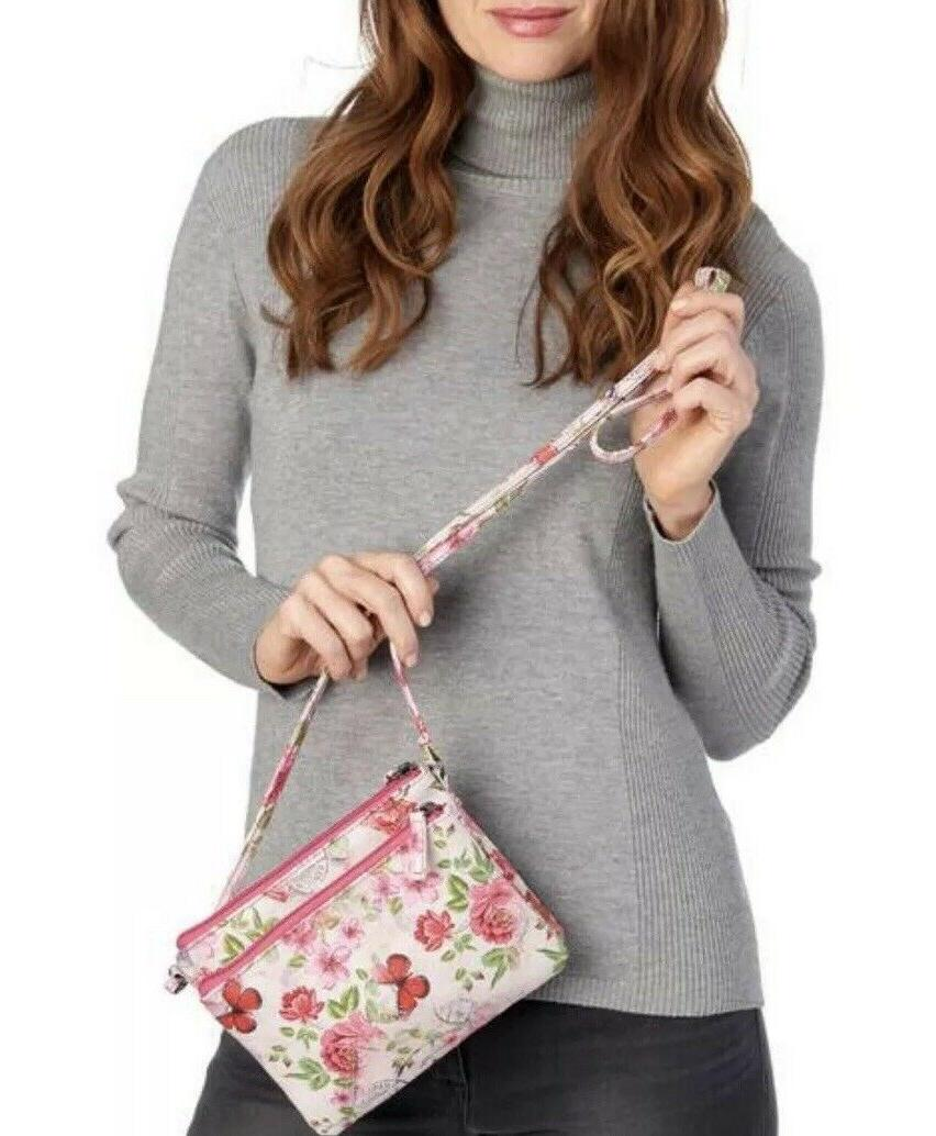 Mundi Women's Floral Safe Keeper RFID Body Charger-NWT