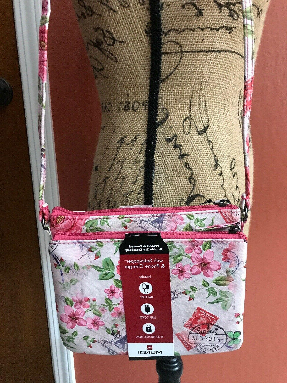 Safe Body Bag With Charger-NWT
