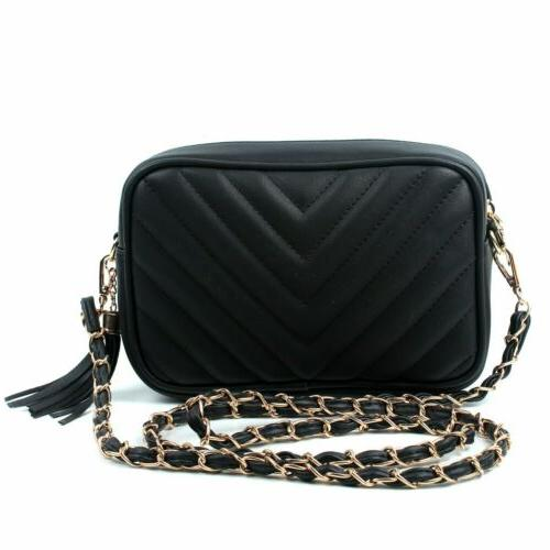 Women's Ladies Handbag Leather Cross Body